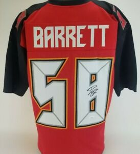Shaquil Barrett Signed Tampa Bay Buccaneers Custom Jersey (JSA Witness COA)