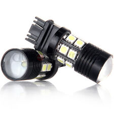 2X 3157 White 6000K Backup Brake Tail Reverse Cree+12-SMD Chip LED Lights Bulbs