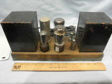 HTF 1956 PILOTONE AA-410 Dual 6L6GB Five Tube Monoblock Amplifier - Serviced NR