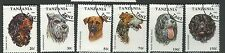 1993 Dogs Part Set of 6 Complete Used as per Scan