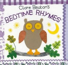 Barefoot Books Clare Beaton's Bedtime Rhymes by Clare Beaton (2012, Board Book)