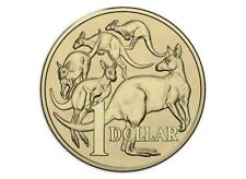 2017 Australia $1 (one dollar) Mob Of Roos Coin From Mint Roll UNC
