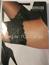 Wolford Satin Touch Stay-up Size: Medium Color: White 21223 - 14