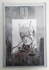 DC Comics Dark Knight III #1 Jim Lee Signed Sketch Variant 1:5000 OUR FINAL COPY
