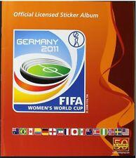 WORLD CUP PANINI 2011 STICKERS ALBUM 100% Complete Rare Women's WC rare woman