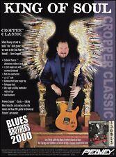 Steve Cropper Signature Peavey Classic guitar 1999 ad 8 x 11 advertisement print