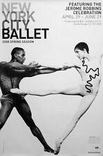 NYC BALLET Original 2 Poster SET JEROME ROBBINS 2'x3' Rare 2008 Mint