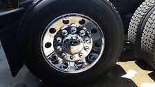 """22.5"""" ABS Chrome-Plated Rear Wheel Cover Wheel Simulator – set of 2"""