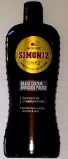 Simoniz Black Colour Enriched Car Polish Helps Restore Paintwork 500ml