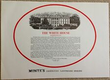 Vintage White House - Monte Paper Model from Toywares
