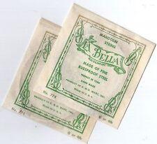 """Mandolin strings, """"La Bella"""" Single Steel Wound G, or 4th Strings, 2 pack"""
