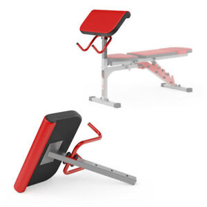Bicep Preacher Curl Bench Attachment with Bar Holder KSSL013/2