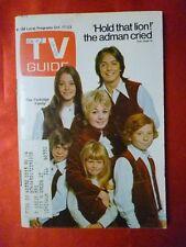 Illinois October 1970 TV Guide PARTRIDGE FAMILY David Cassidy Susan Dey S Jones