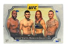 BRAND NEW UFC TRADING CARDS BOX 2018 Topps UFC Museum Collection Hobby Box