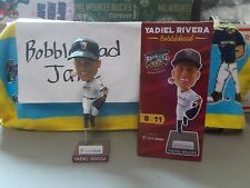 NIB 2017 YADIEL RIVERA WISCONSIN TIMBER RATTLERS BREWERS BOBBLEHEAD SGA MARLINS