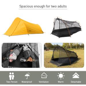Zelt 1-2 Personen Campingzelt Ultraleicht Outdoor Sleeping Zelt Campingzelt M3I8
