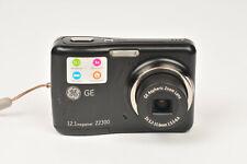 GE Z2300 12MP Compact Digital Camera Uses AA Batteries