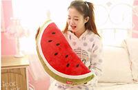 Xmas gift Plush Watermelon Toy Giant Large Stuffed Fruit Plush Doll Pillow 1 pcs