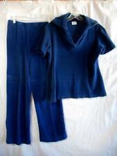 Vintage Malibu by Catalina 2 pc set - Short Sleeve Top sz. L & Pants 13/14