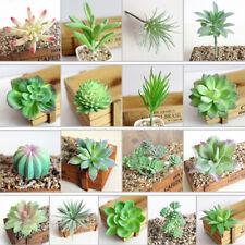 1PC Artifical Plastic Succulent Plant Cactus Echeveria Flower Home Office Decor