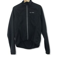 Vaude Mens Matera Softshell Jacket Cyclist Long Sleeve Black Size S Small