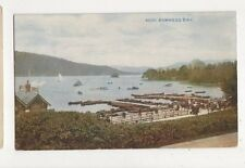 Bowness Bay Vintage Postcard 624a