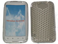 Pattern Gel Case Protector Cover Clear For HTC Sensation XL G21 X315E Runnymede