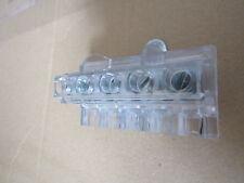 Box of 4 x 5 Way DIN Rail Commoning Block Screw Down 5AWG, 16mm2 CSA 3003154863