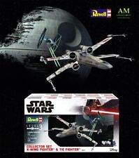 Star Wars - Revell Collectible Collector Lot - X-Wing Fighter & TIE Fighter