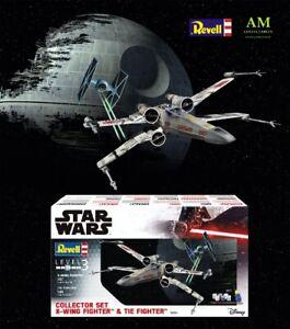 Star Wars - Revell Set Costruzione Modellino Collector - Ala-X Fighter & TIE