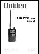 uniden radio communication manuals magazines ebay rh ebay com Uniden 7 Inch Tablet Manual Uniden Answering Machine Manual