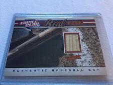 2012 Panini Triple Play Baseball Real Feel Authentic Bat card #296