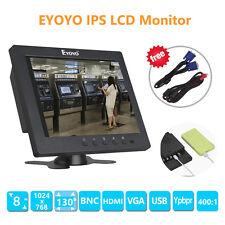 "8 ""LCD HD monitor IPS pantalla de vídeo para FPV PC CCTV DVR cámara de seguridad"