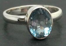 Topaz Topaz Sterling Silver Fine Rings