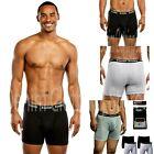 Men Boxer Briefs Underwear 2 4 6 Pack Lot Trunks Soft Cotton Stretch Breathable