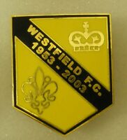 WESTFIELD F.C. Football Enamel Lapel Pin Badge NON LEAGUE