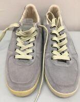 puma suede classic grey Sneaker Shoes Sz 7.5 DALLAS gum Bottoms