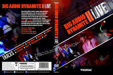 BIG AUDIO DYNAMITE II LIVE. NEW DVD
