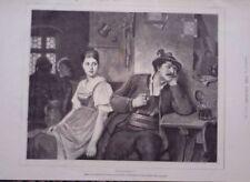 Engraving White Portrait Art Prints
