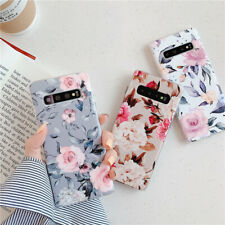 Hot style Soft Phone Case For Samsung A40 A50 A70 S10 S9 S8 Plus Flower Rose