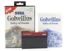 Golvellius-Valley of Doom Fu R Sega Master System/MS