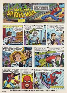 Spider-Man by Lee & Romita - Origin - full page Sunday comic - October 23, 1977