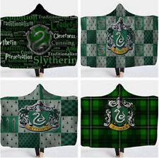 Harry Potter Slytherin Hooded Blanket Wearable Blanket Xmas Gift 150x130cm