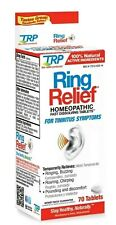 TRP Ring Relief Homeopathic Medicine for Tinnitus - 70 Fast Dissolving Tablets