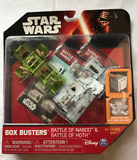Brand New Star Wars Box Buster Battle of Naboo & Battle of Hoth, Disney