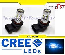 CREE LED 80W 9005 HB3 BLUE 10000K TWO BULB HEAD LIGHT DRL JDM REPLACE PLUG PLAY