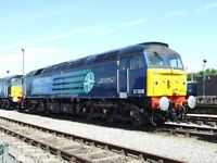 Class 57 57008 6x4 Quality British Rail Photo