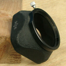 Mamiya TLR c330 Lens Hood 48 mm Pince pour finition noire pour 80 mm 105 135