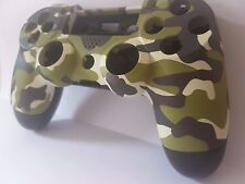 PS4 CONTROLLER SHELL HOUSING mod pulsante kit-Limited Edition CAMOUFLAGE-UK