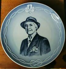 Vintage Royal Copenhagen porcelain plate Lady Baden-Powell Fellowship Day 1981
